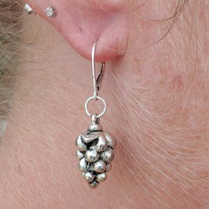 Jewelry - Sterling Hop Flower Earrings